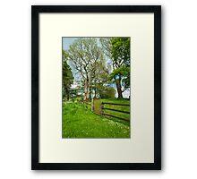 Grange Stone Circle Gate, Ireland Framed Print