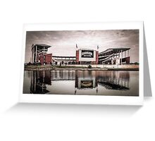 Baylor Bears McLane Stadium Sketch Greeting Card