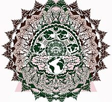 evolution mandala by hiddentemple