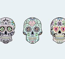 Sugar skulls by AnnabelStar