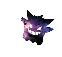 Galaxy Gengar Photographic Print