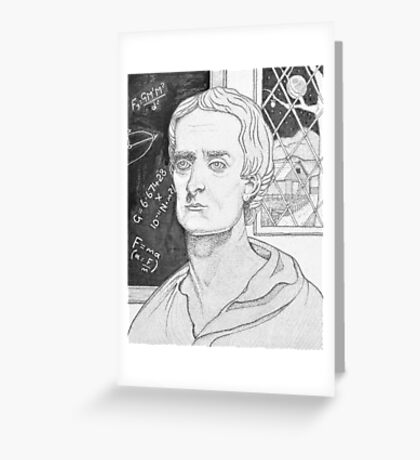 The Last Alchemist. Greeting Card