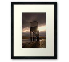 Burnham on sea lighthouse 2 Framed Print