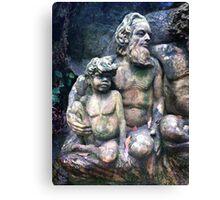Statue, William Rickets Sanctuary Canvas Print