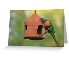 Sunflower seed for one please Greeting Card