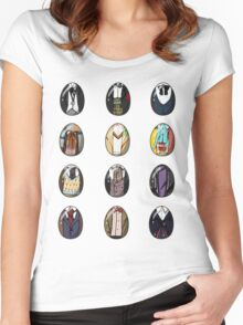 A Timey-Wimey Easter I Women's Fitted Scoop T-Shirt