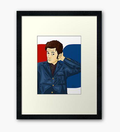 David Tennant Framed Print