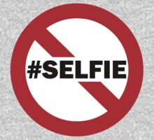 No Selfie Zone T-Shirt