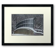Winter Clings to Spring Framed Print