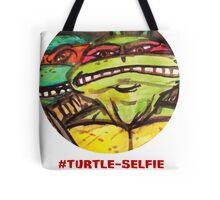 """#Turtleselfie """"Smile Raph"""" Tote Bag"""