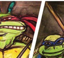 Teenage Mutant Ninja Turtles Watercolor  Sticker