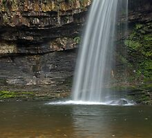 Sgwd Gwladys Waterfall River Pyrddin by Nick Jenkins