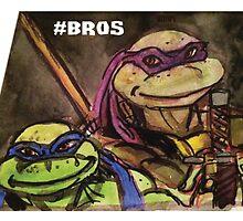 "Teenage Mutant Ninja Turtles ""#Bros"" by BAR84"