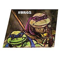 """Teenage Mutant Ninja Turtles """"#Bros"""" Photographic Print"""