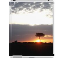 Kenya Sunsit safari iPad Case/Skin