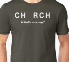 CH_RCH What's Missing? Unisex T-Shirt