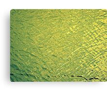GOLDEN WATER Canvas Print