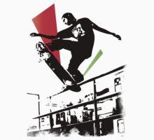 Skateboard Grind Kids Clothes