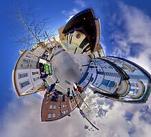 Shipquay Street Panorama - Spring 2014 by George Row