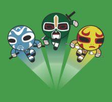 3 Ninjas Puff back One Piece - Short Sleeve