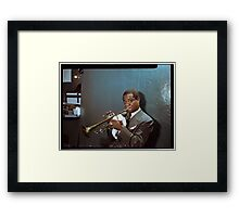 Louis Armstrong, 1946 Framed Print