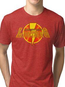 The Fawcett City Lightning  Tri-blend T-Shirt