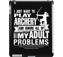 PLAY ARCHERY iPad Case/Skin