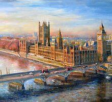 Eye Over London by clj711