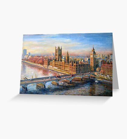 Eye Over London Greeting Card