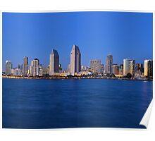 San Diego Evening Poster
