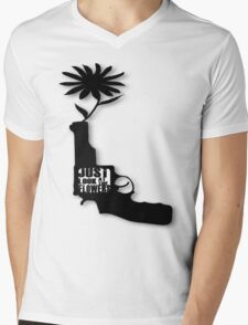 Just Look At The Flowers Mens V-Neck T-Shirt