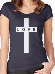 Love Cross Women's Fitted Scoop T-Shirt
