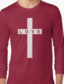 Love Cross Long Sleeve T-Shirt
