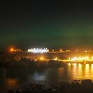Aurora over Portpatrick (1) by Tim Haynes