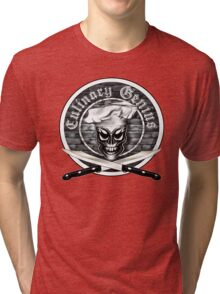 Skull Chef: Culinary Genius Tri-blend T-Shirt