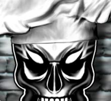 Skull Chef: Culinary Genius Sticker