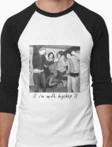bigsleep Men's Baseball ¾ T-Shirt