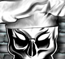 Skull Chef: Culinary Genius 4 Sticker