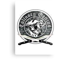 Skull Chef: Culinary Genius 7 Metal Print
