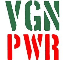VGN Vegan PWR Power by Style-O-Mat