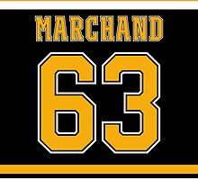 Boston Bruins Brad Marchand Jersey Back Phone Case by Russ Jericho