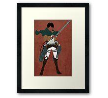 Eren Yeager Framed Print