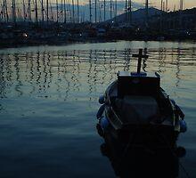 boat and sea by habish