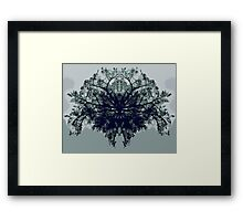Abstract symetry Framed Print