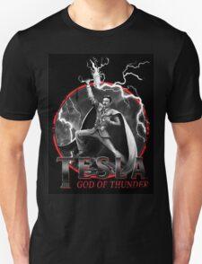 Tesla God Of Thunder Unisex T-Shirt