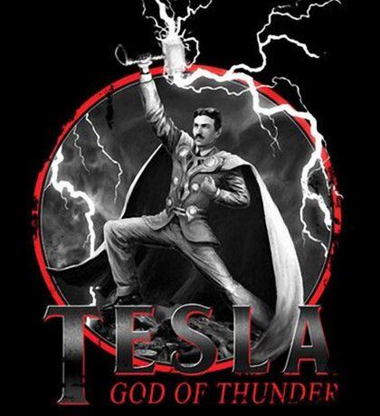 Tesla God Of Thunder Sticker