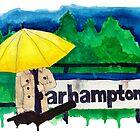 Yellow Umbrella by bryandraws