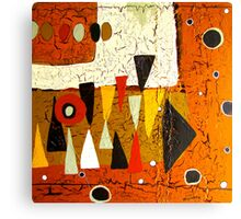 1974 Abstract Canvas Print