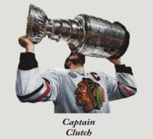 Captain Clutch with The Cup (Toews) by wnewman