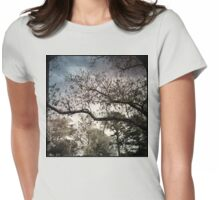 Bruised Branches Womens Fitted T-Shirt